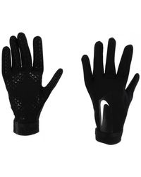 Hyperwarm gants grip nr hommes Gants en Noir Nike pour homme en coloris Black
