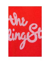 15155378 T-shirt ONLY en coloris Red