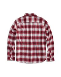 Sperry Top-Sider Red Men's Flannel Button Down Shirt for men