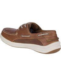 Sperry Top-Sider Brown Men's Gamefish 3-eye Boat Shoe for men