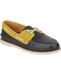Sperry Top-Sider Blue Men's Gold Cup Authentic Original Chevre Boat Shoe for men