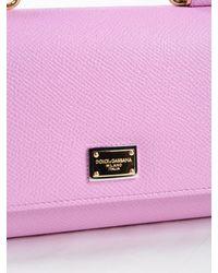 Dolce & Gabbana Pink Phone Bag St.dauphine