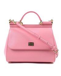 Dolce & Gabbana Pink St.dauphine Handbag