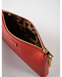 Dolce & Gabbana Red Calfskin Micro Bag