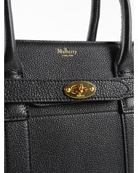 Mulberry Black Small Zip Bayswater Bag