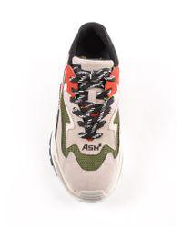 Ash Gray Sneakers Nappa Calf for men