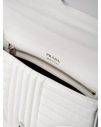Prada - Multicolor Soft Calf Impunture Shoulder Bag - Lyst