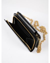 Prada - Black Saffiano Metal Oro I-phone Case - Lyst