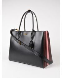 Prada Black City Calf Tote
