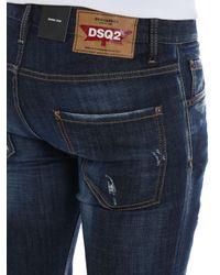 DSquared² Blue Skinny Jeans for men
