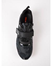 Prada Black Jacquard Camou Sneaker for men