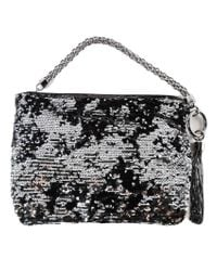 Jimmy Choo - Black Double Faced Sequins Bag - Lyst