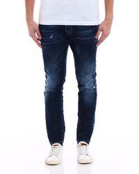 "DSquared² Blue Skater Denim Pocket Logo ""be Cool Be Nice"" for men"