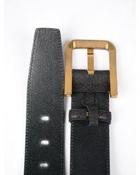 Dolce & Gabbana - Black Belt No Logo for Men - Lyst