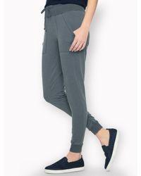 Splendid Gray Vintage Wash Active Pant