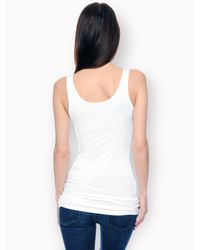 Splendid - White First Layer Tank Top - Lyst