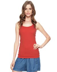 Splendid | Red 1x1 Tank Top | Lyst
