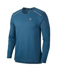 Nike Rise 365 Funktionsshirt in Blue für Herren
