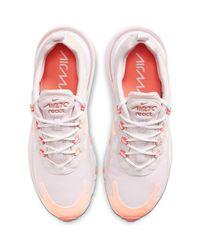 Nike Natural Air Max 270 React Sneaker