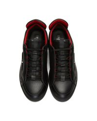 Fendi Black Bag Bug Sneakers for men