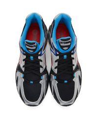 メンズ Vetements Reebok Edition ブラック And シルバー Runner 200 スニーカー Black