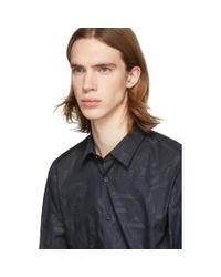 メンズ BOSS Jeremyville Edition ブラック Ronni シャツ Black