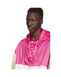 メンズ Isabel Marant ピンク And ベージュ Kizzy ジャケット Pink