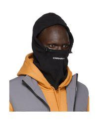 メンズ Carhartt WIP ブラック フリース Beaumont バラクラバ Black