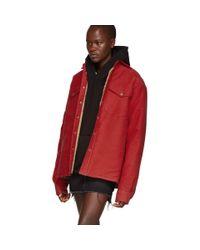 Simon Miller Red Collyer Jacket