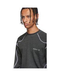 メンズ GmbH グレー Asia モノ クルーネック セーター Gray