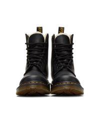 Dr. Martens - Black Faux-fur 1460 Serena Boots - Lyst
