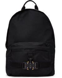 メンズ 1017 ALYX 9SM ブラック Tricon バックパック Black
