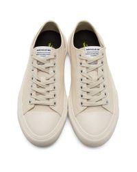 メンズ Article No. オフホワイト 1007-10 スニーカー White