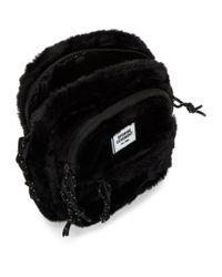 Sac a bandouliere en fourrure synthetique noir Mini Opening Ceremony pour homme en coloris Black