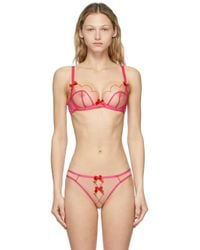 Agent Provocateur ピンク Lorna Plunge ブラ Pink