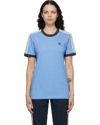 Wales Bonner Adidas Originals Edition ブルー ロゴ T シャツ Blue