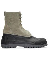Diemme Gray Grey Anatra Boots for men