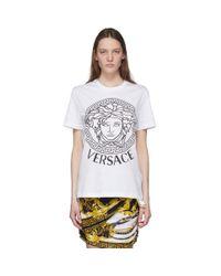 Versace Ssense 限定 ホワイト メドゥーサ T シャツ White