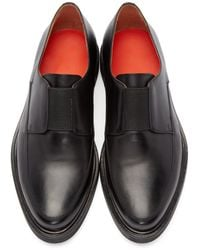 Paul Smith Black Creeper Loafers for men