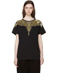 Marcelo Burlon - Black Beaded David T-shirt - Lyst