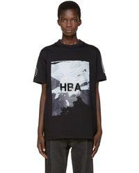 Hood By Air - Black Wall T-shirt for Men - Lyst