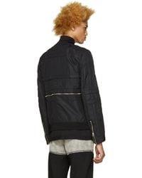 Hood By Air - Black Jockey Bomber Jacket for Men - Lyst