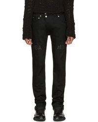 Hood By Air - Black Pedro Moto Jeans for Men - Lyst