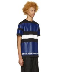 Hood By Air - Multicolor Tricolor Striped T-shirt for Men - Lyst