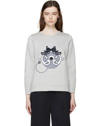 Mother Of Pearl - Gray Grey Check Monster Edith Pullover - Lyst