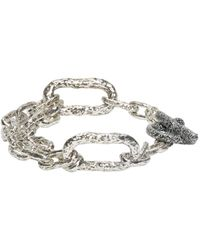 Pearls Before Swine - Metallic Silver Link Bracelet - Lyst