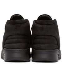 Filling Pieces - Black Mid-top Sneakers for Men - Lyst