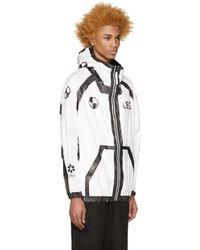 Ueg - Black White Car Crash Jacket for Men - Lyst