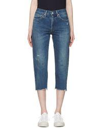 Chimala - Blue Indigo Selvedge Jeans - Lyst