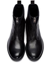DIESEL - Black Hardkor Boot for Men - Lyst